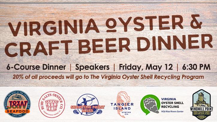 Virginia Oyster & Beer Dinner