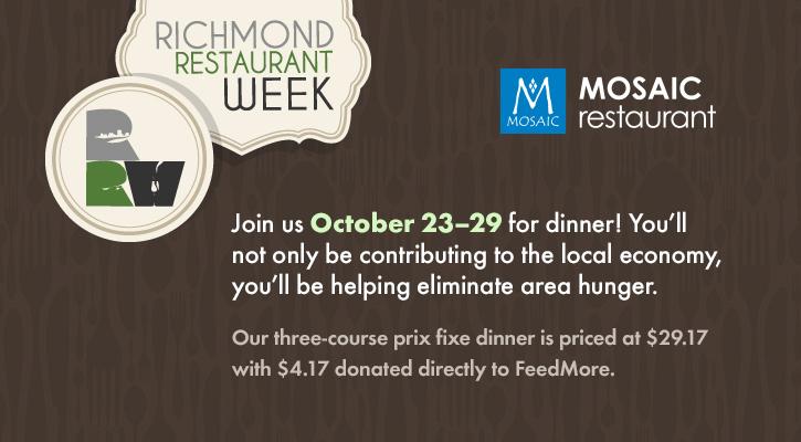 Fall Restaurant Week