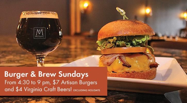 Burger & Brew Sundays